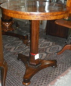 C1820's Burr Walnut Table