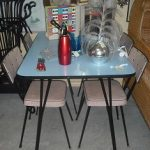 C1950's Kitchen Table & Chairs