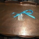 C1890's English Copper Tray