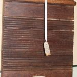 C1800's Corrugated Washboard