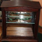 C1900's Oak Display Case