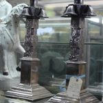C1800's Indian Candlesticks