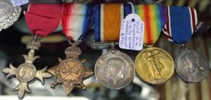 C1914 - 1919 World War I Royal Navy F.G.W. Potter Medal Group