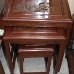 Vintage Chinese Side Tables