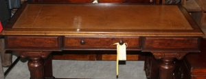 C1830's Tooled Leather Topped Writing Desk