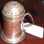C1714; Britannia; Silver; Pepper Pot; Silver Content; John Porter London
