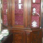Walnut Display Cabinet
