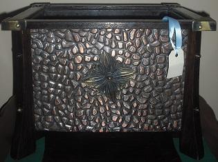 C1890's English Oak Wood Box