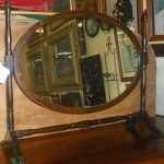 C1800's Inlaid Dressing Mirror