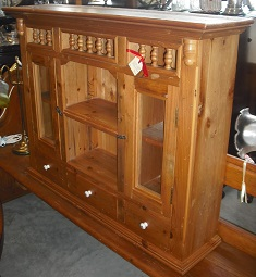 Classic Wall Display Cabinet