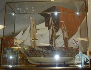Classic Sailing Ship Model