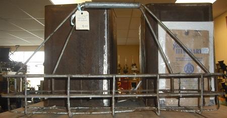 C1950's Garage Oil Rack