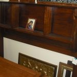 Early 1900's Blackwood Over Mantle