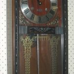 Vintage 31 Day Wall Clock