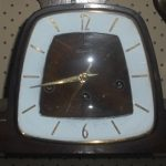 C1960's Unicorn Westminster Clock