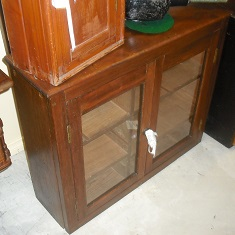 C1900's 2 Door Display Cabinet