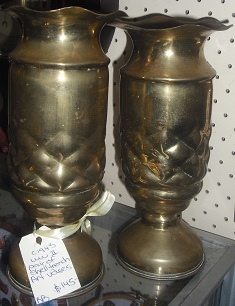 C1943 World War II Shell Vases