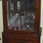 Classic Mahogany Display Cabinet