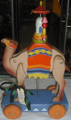 C1950's Japanese Camel Pull Along Toy