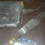 C1900's P.M.G Post Office Communication Belt Bag