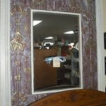 Framed Metal Panelled Mirror