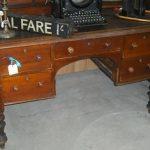 C1880's Colonial Cedar Desk