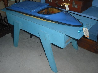 C1950's / 60's Remote Control Speedboat