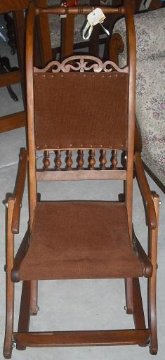 C1900's Child's Rocking Chair