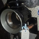 C1880's Buggy or Coach Candle Lamp