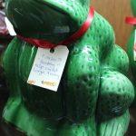 C1920's Basley Slip Cast Frog