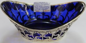 C1900's Sterling Silver Pierced Bowl