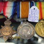 C1914 - 1919 World War I Royal Navy F.G.W. Potter Medal Group