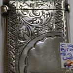 C1902 Birmingham Sterling Silver Vesta Case
