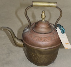 Brass & Copper Kettle