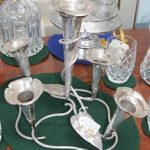 C1900's Silver Plated Epergne
