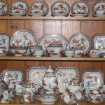 C1920's Chinese Export Dinner / Tea Service