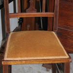 C1900's Inlaid Chair