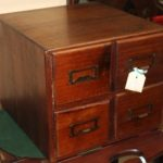 C1920's 4 Drawer Filing Cabinet